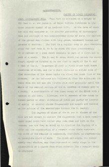 Scanned copy of RCAHMS Marginal Land Survey unpublished typescripts (Aberdeenshire).