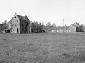 Dalkeith, Ironmills Road, mill, cartshed range and Millers House View from S