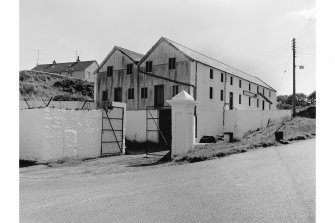 Drummore, Mill Street, Wyllie's Mill View from NNW showing entrance and mill