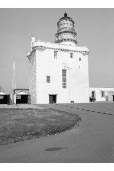 Kinnarid Head Lighthouse View of lighthouse