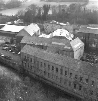 Polton, Springfield Paper Mill, view overlooking mill from NW