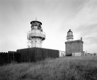 General view from W-N-W also showing modern light.
