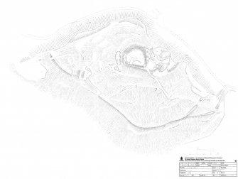 Survey drawing, Castle Craig