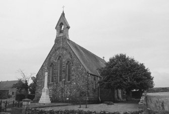 Aberdeen, Kingswell, Church of Scotland. General view from North.