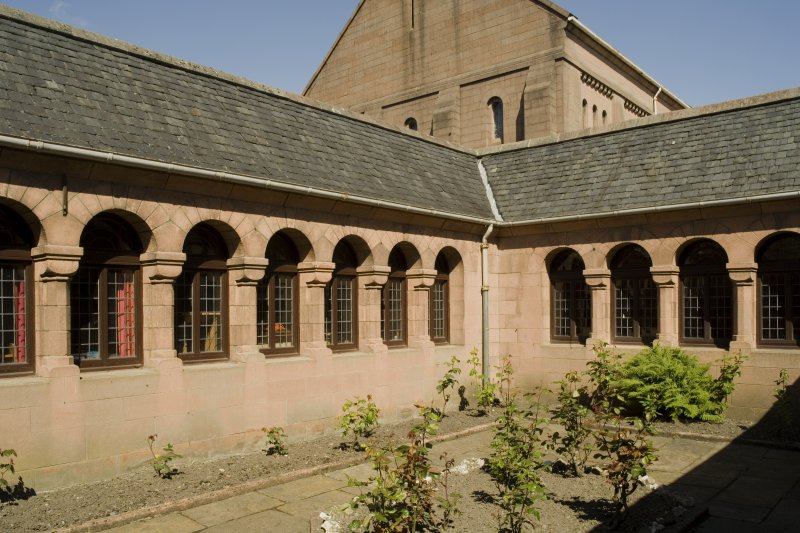 Cloister, view from SE
