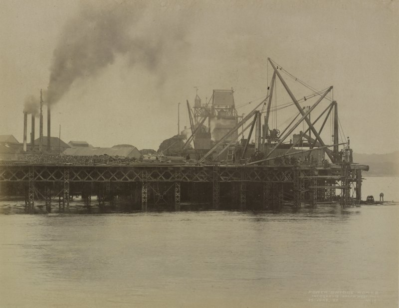 Forth Bridge Works: Inchgarvie, North West pier, No.[17]