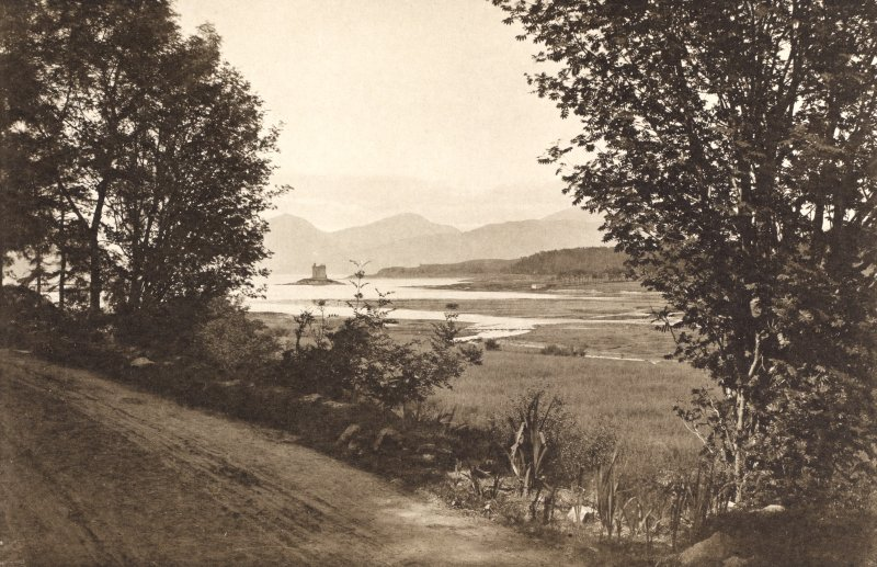 Castle Stalker and Loch Laich