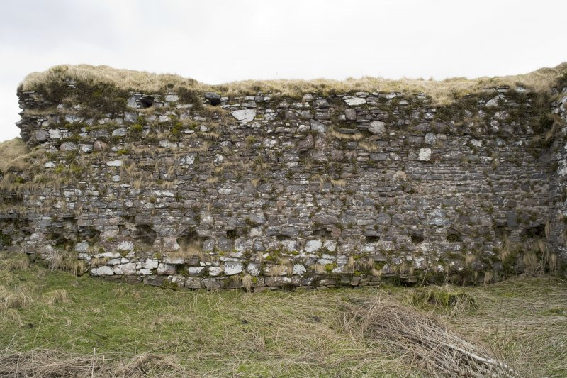 Great Hall, S wall, view from N