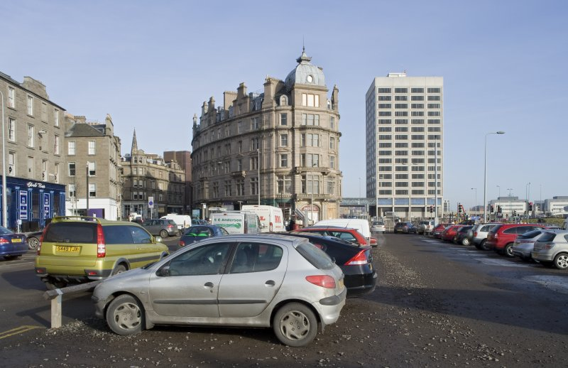 View looking to Tayside House and the Tay Hotel, taken from WSW