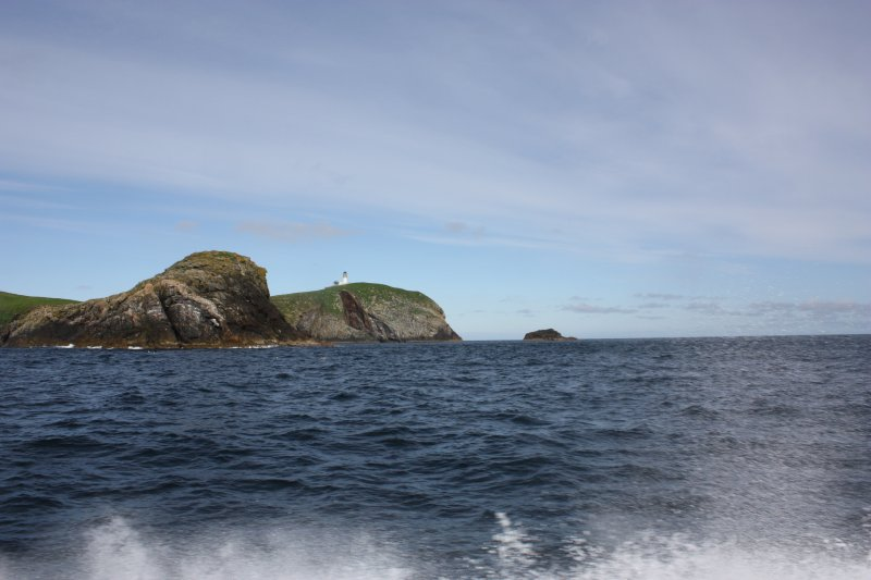 General view of Eilean Mor from the ESE.