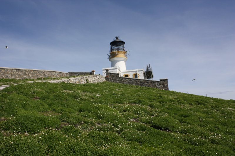 Flannan Isles chapel, general view from the SW.