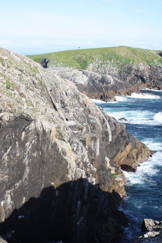 View of SW landing area on Eilean Mor, Flannan.