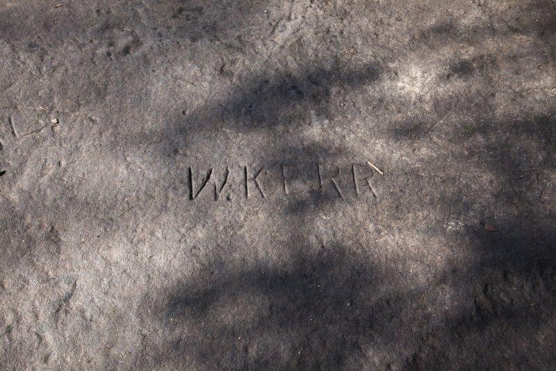 Detail of grafitti.