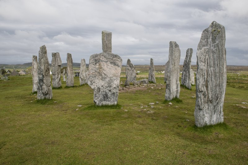 View of the stones.
