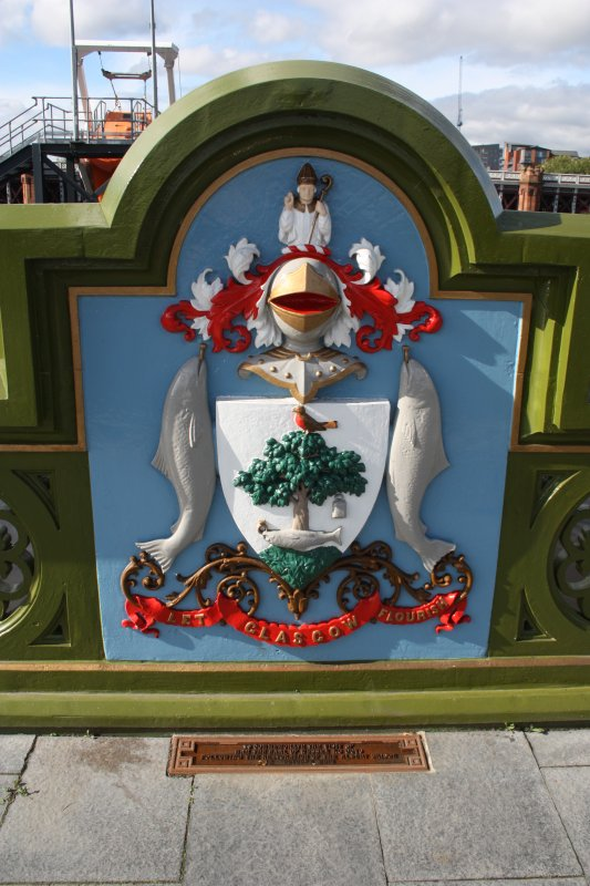 Detail of Glasgow coat of arms