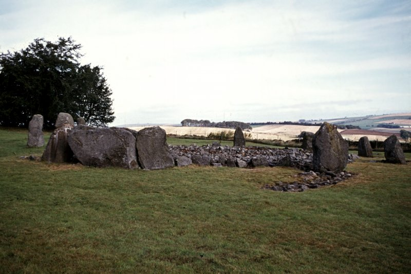 General view of stone circle.