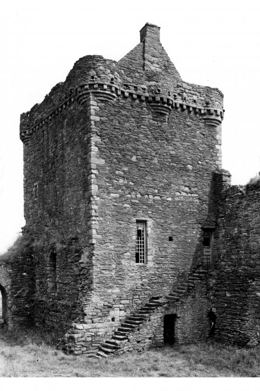 General view of Keep from South West