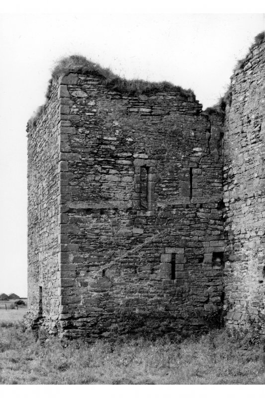 General view of South East tower from North