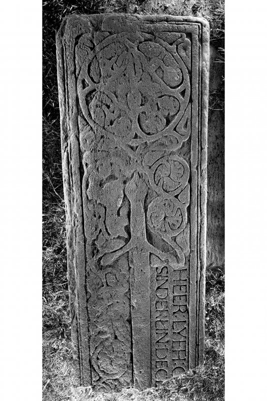 West Highland Stone, Kilchoman Church. View of stone KG 8.