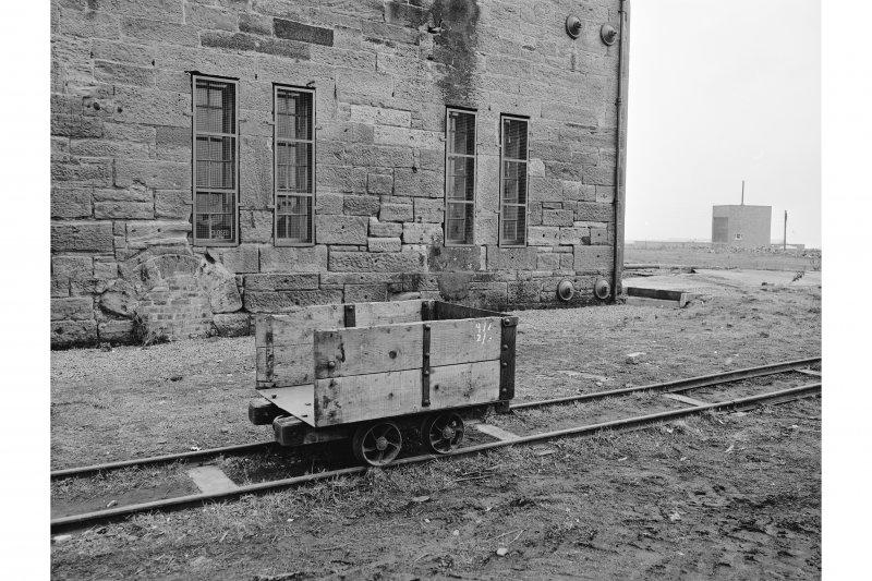 Prestongrange Colliery View of coal wagon