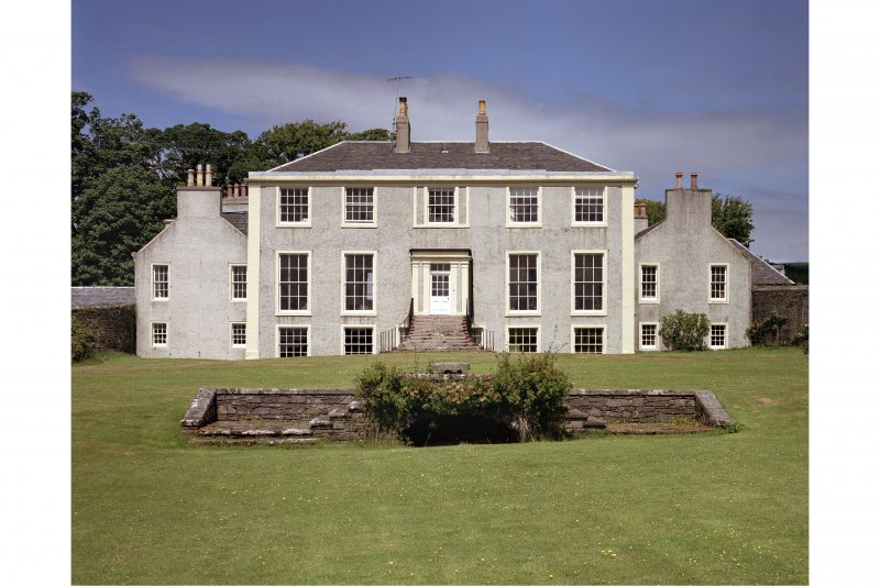 Ardlamont House. View of South front.