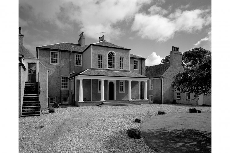 Ardlamont House. View of North front.