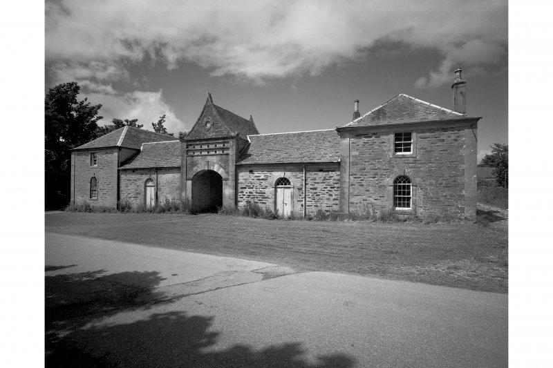Ardlamont House, Court of Office. General view.