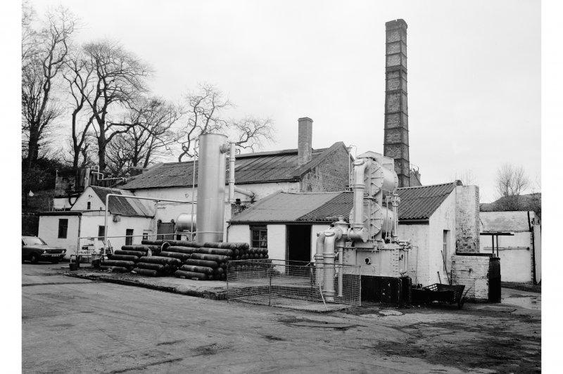 Great Cumbrae Island, Millport Gasworks General View