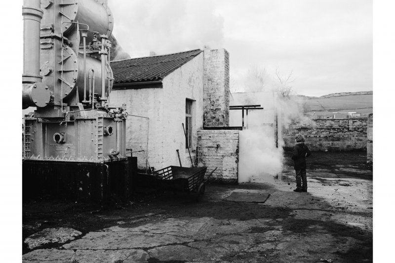 Great Cumbrae Island, Millport Gasworks View of coke quenching