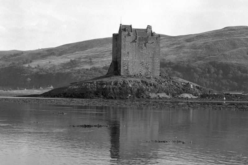 Castle Stalker. View from North West.