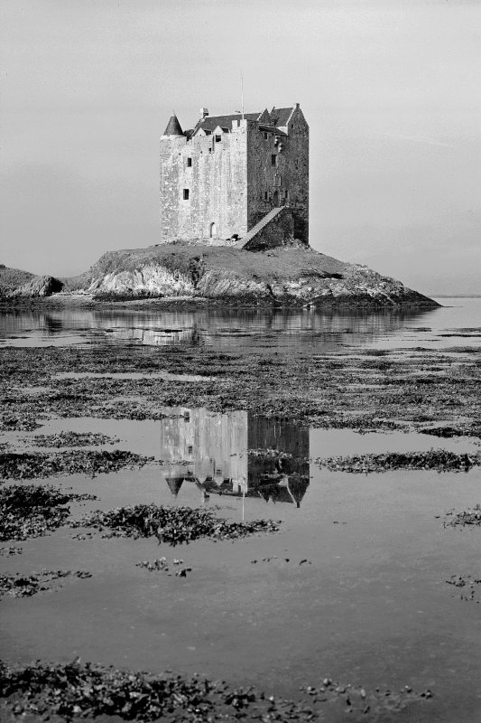 Castle Stalker. General view from East.