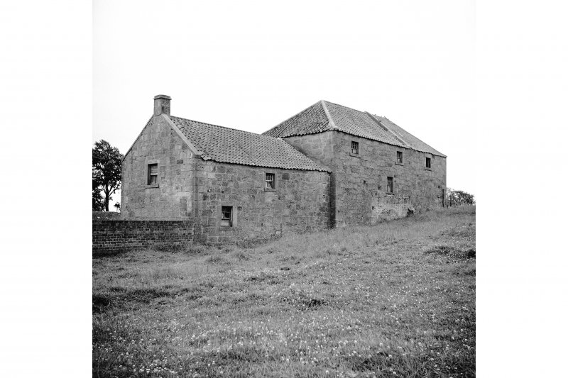 Denbrae Mill View from WNW showing WSW and NNW fronts