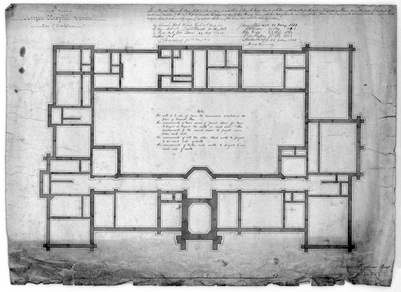 Plans, sections and elevations. Scaned image of D 39786.