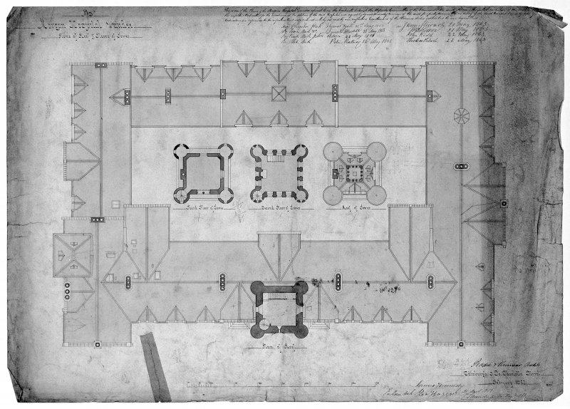 Plans, sections and elevations. Scanned image of D 39788.