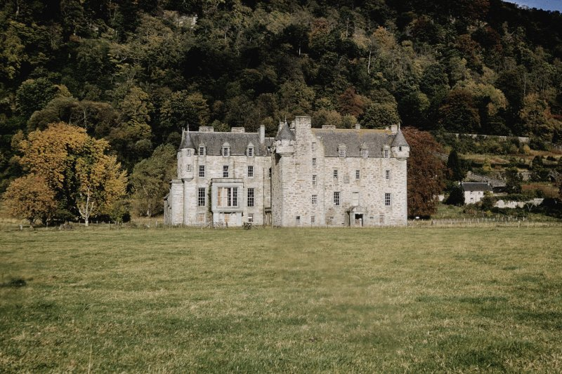 Castle Menzies. View from South.