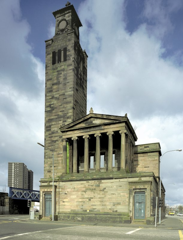 1 Caledonia Road, Caledonia Road Church, Glasgow General view from South East