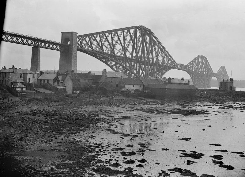 View of the bridge from North Queensferry.