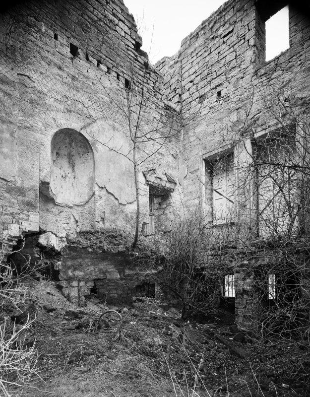 Digital copy of interior. View of entrance hall.