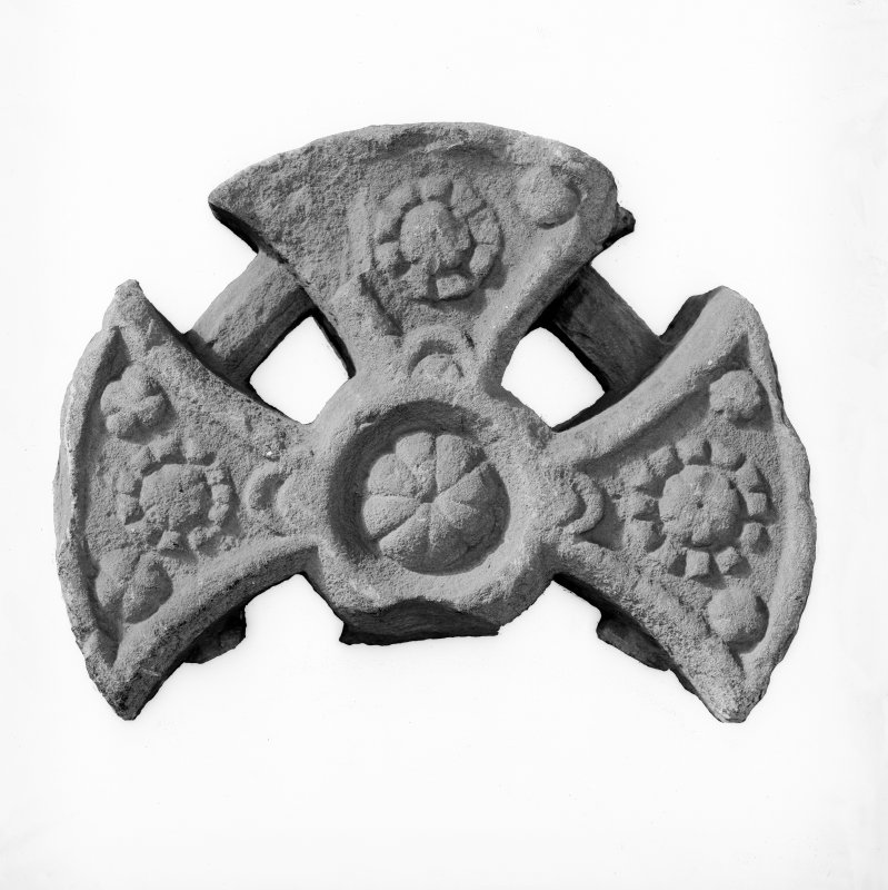 Detail of late Romanesque cross-head