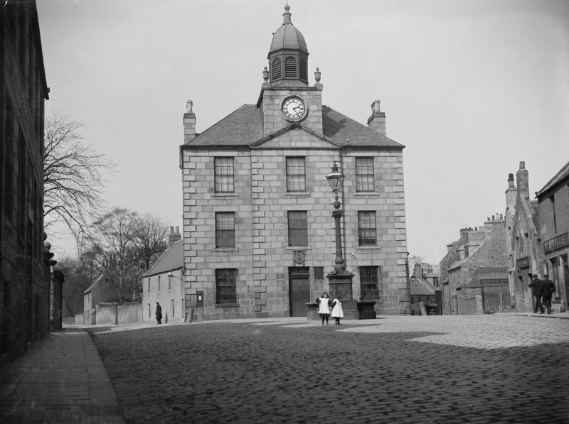 Aberdeen, Old Aberdeen, Hign Street, Town House. General view from South.