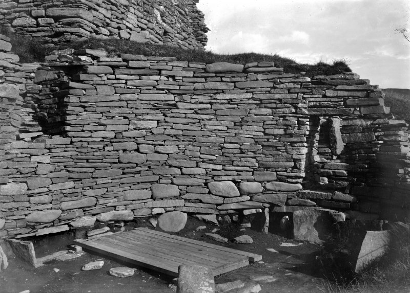 Interior of broch.