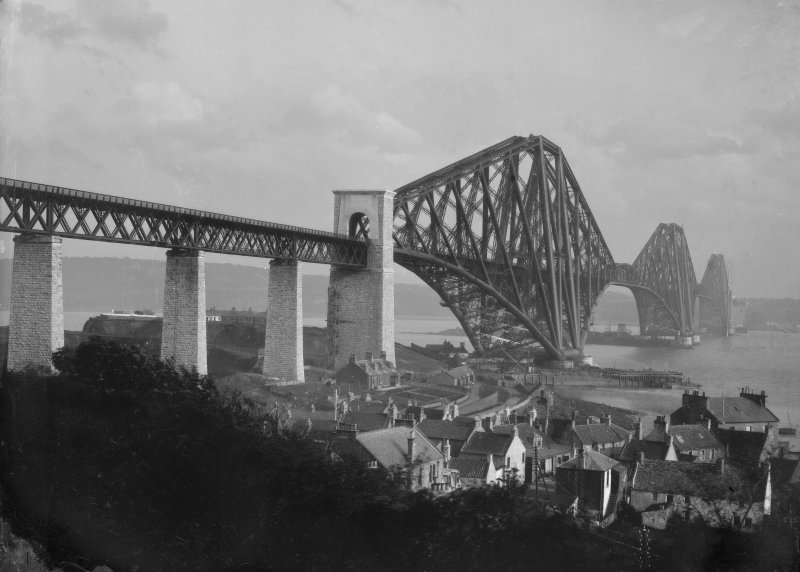 View of the bridge seen from North Queensferry.