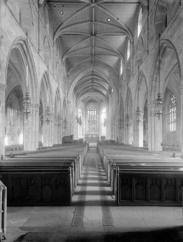 View of nave.