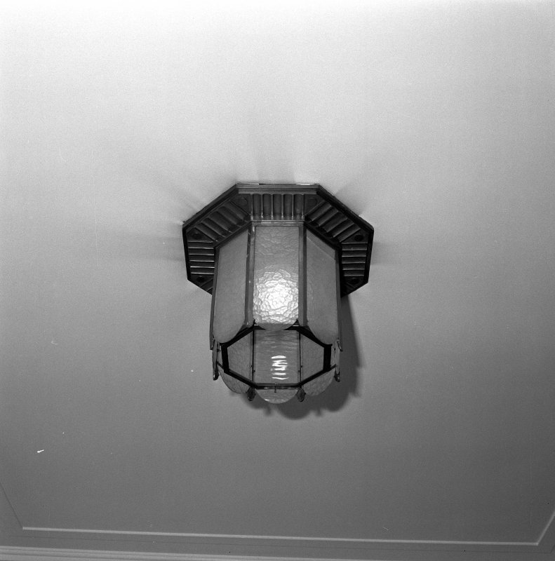 Interior. 6th floor Detail of light fitting