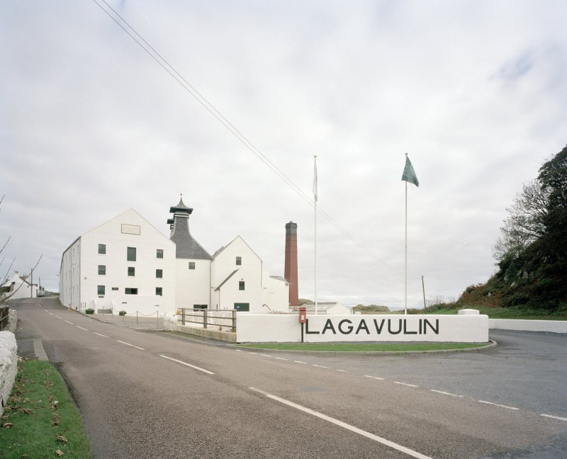 Lagavulin Distillery General view of distillery from W