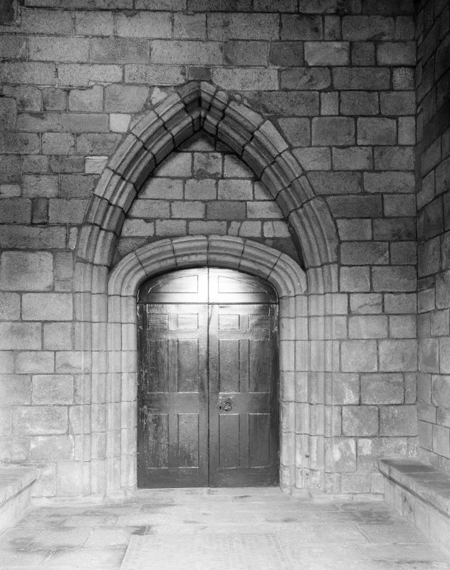 Aberdeen, Chanonry, St Machar's Cathedral, Interior. General view of inner doorway of South porch.