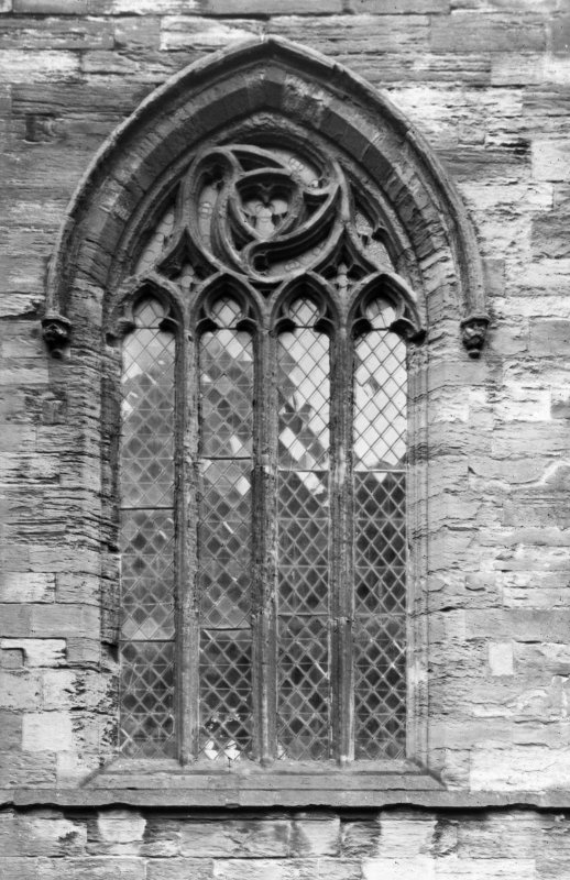 Detail of window on North Aisle.