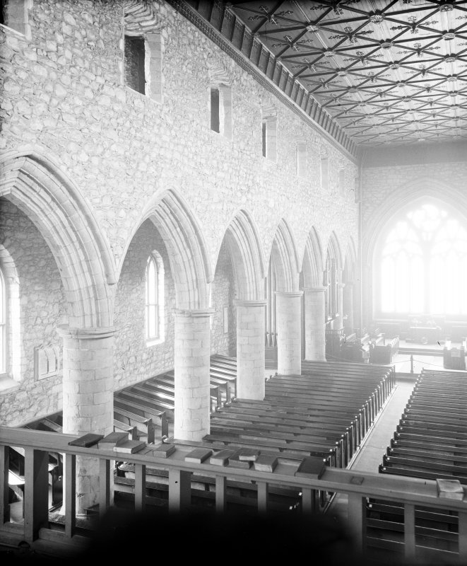 Aberdeen, Chanonry, St Machar's Cathedral, Interior. General view of interior from South-West.