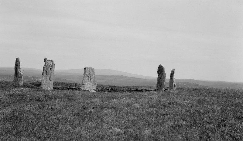 Stone Circle, 'Tursachan', Garynahine.