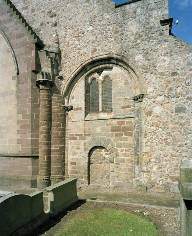 Aberdeen, Chanonry, St Machar's Cathedral. General view of East front, north arch of crossing, view from east.